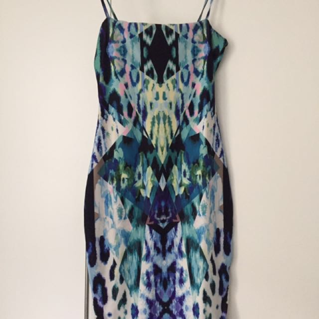 Kookai Midi Strappy Dress Size 2