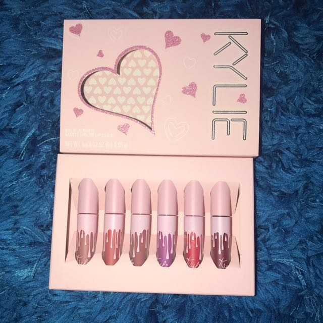 Kylie Cosmetics Birthday Collection Mini Kit Matte liquid lipsticks