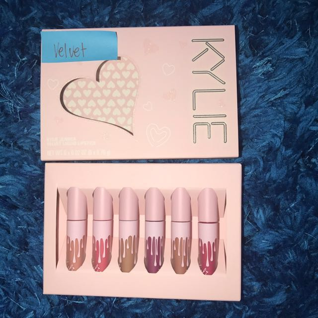 Kylie Cosmetics Birthday Collection Mini Kit Velvet Liquid Lipsticks