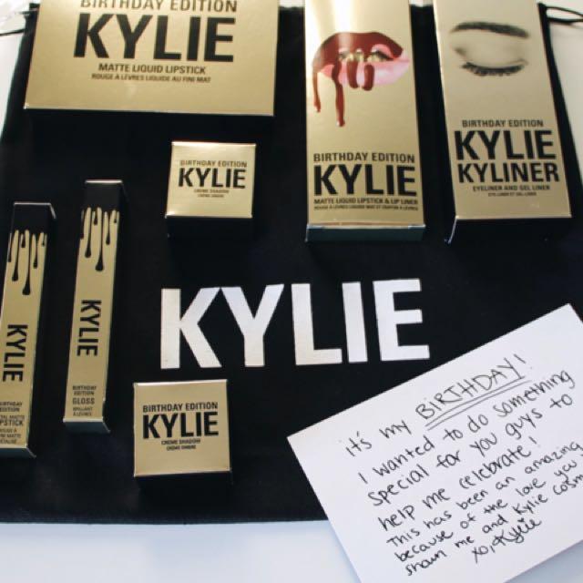 Kylie Jenner - Birthday edition cosmetics