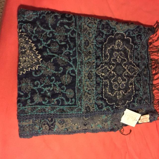 Lightweight blanket scarf