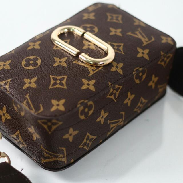 LOUIS VUITTON SNAPSHOT SMALL SLING BAG  Kwalitas Semipremium Bahan  Waterproof Uk 19x12x6 Berat 0 1bfa76d5d71a3