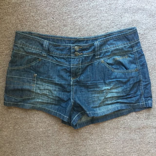Mambo denim shorts