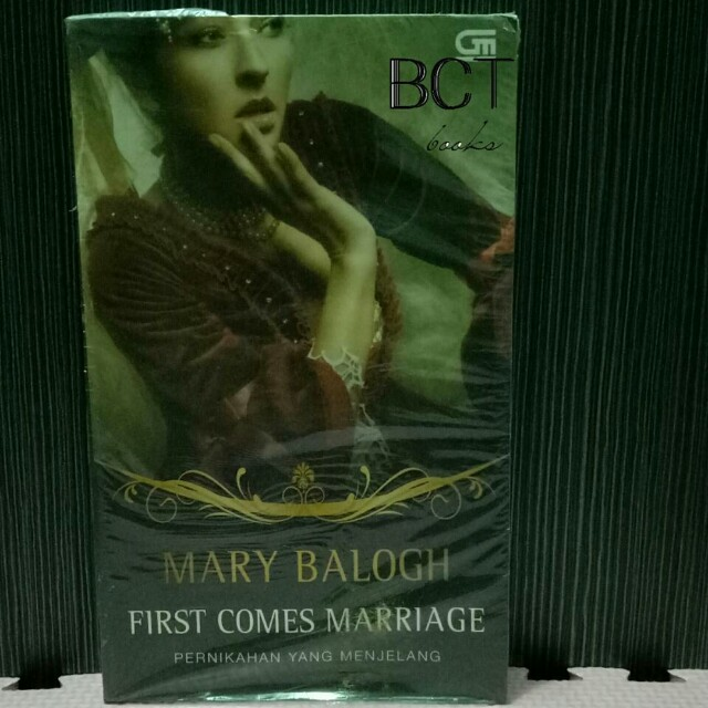 MARY BALOGH - FIRST COMES MARRIAGE