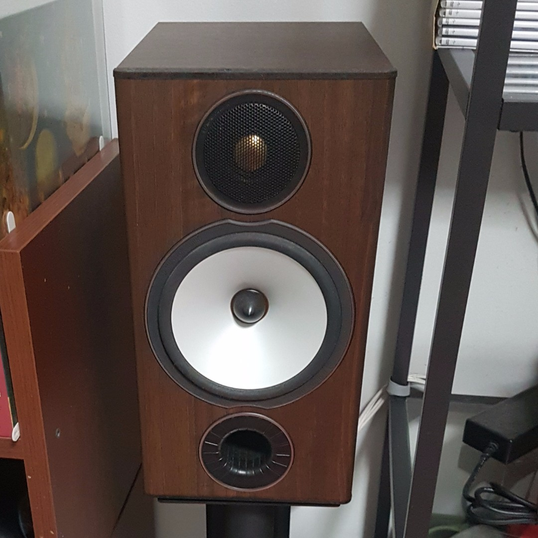 Monitor Audio Bronze BX2 Bookshelf Speakers Mission Speaker Stands Electronics On Carousell