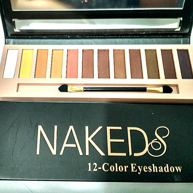 Naked8 Eyeshadow 12 Cols