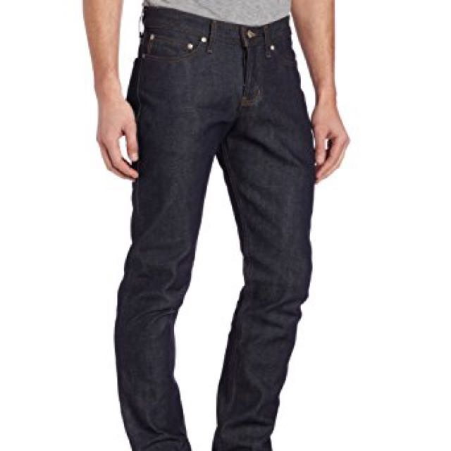 Naked & Famous Raw 13oz Selvedge Weird Guy Jeans