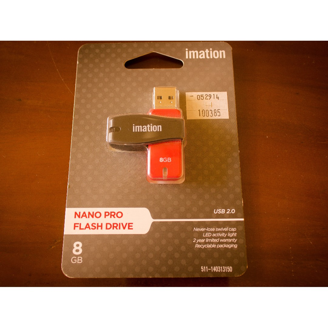 Nano Pro Flash Drive 8gb Electronics Others On Carousell Flashdisk Neckband
