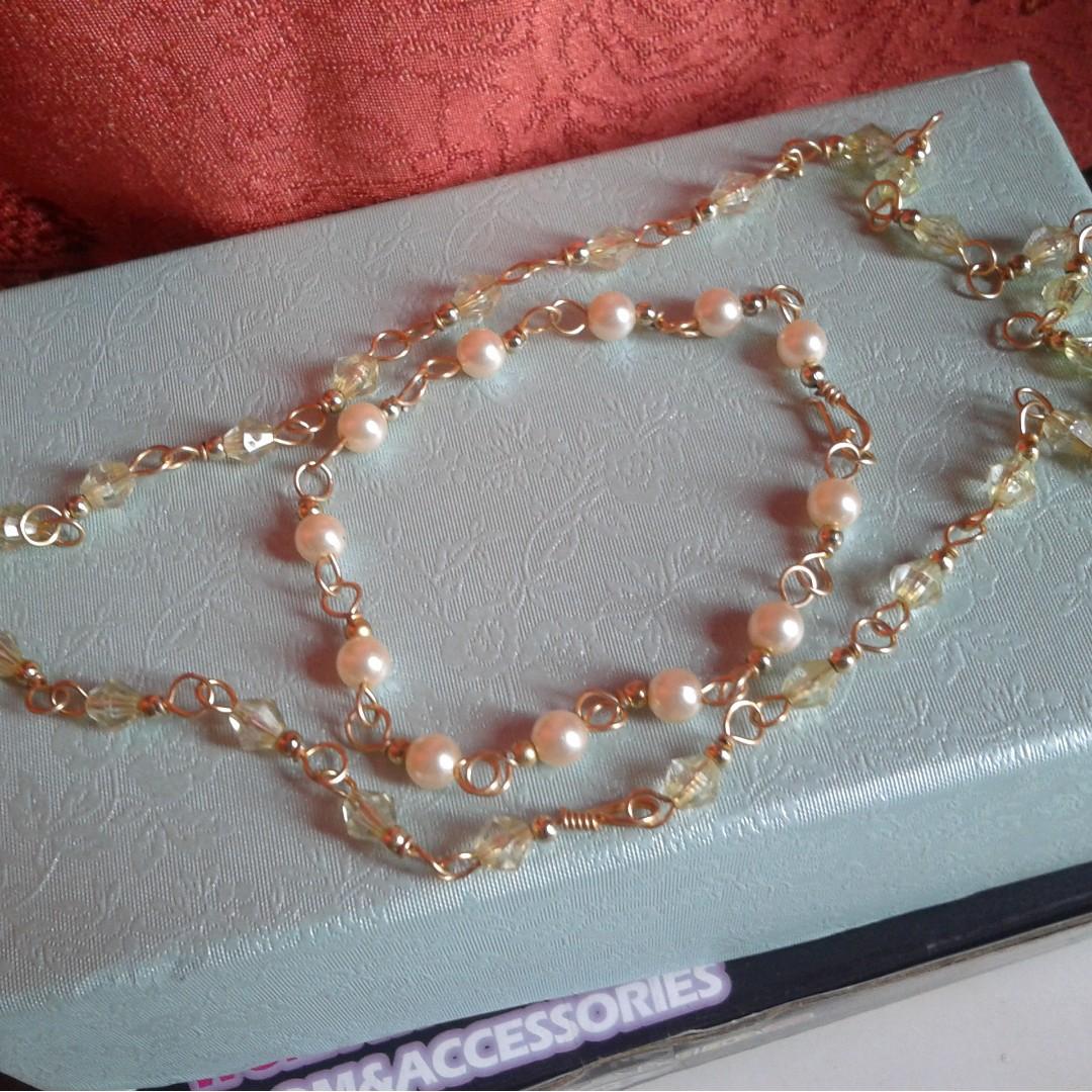 Necklace + Bracelet