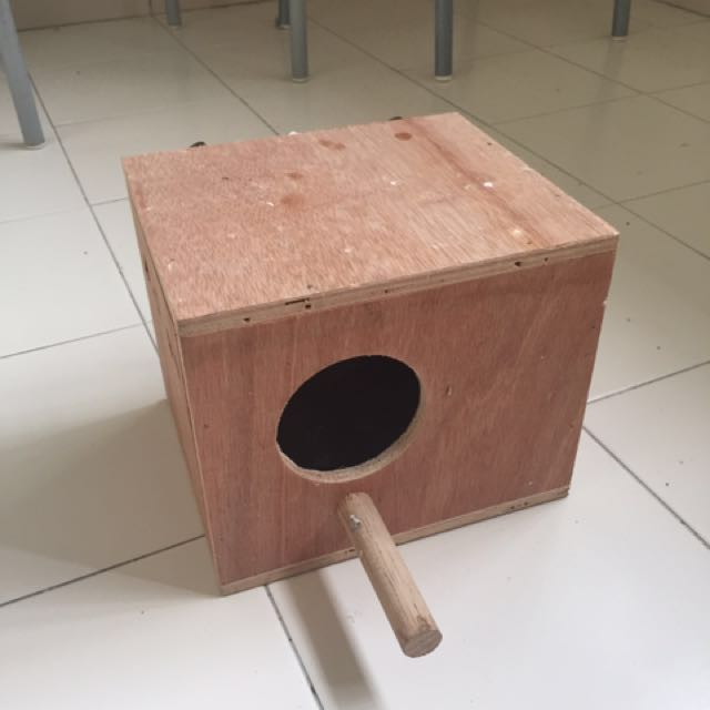 Nestbox for Budgie or Conure
