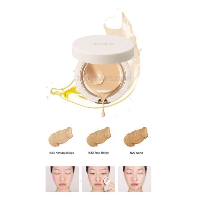 NEW Innisfree Melting Cover Foundation No. 21