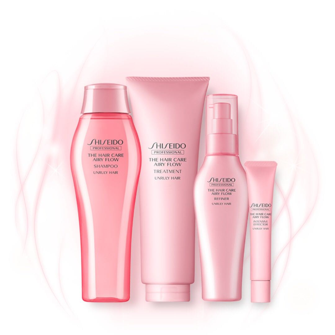 47bd0a0389  NEW SERIES  Shiseido The Hair Care - Airy Flow DISCOUNT SET!