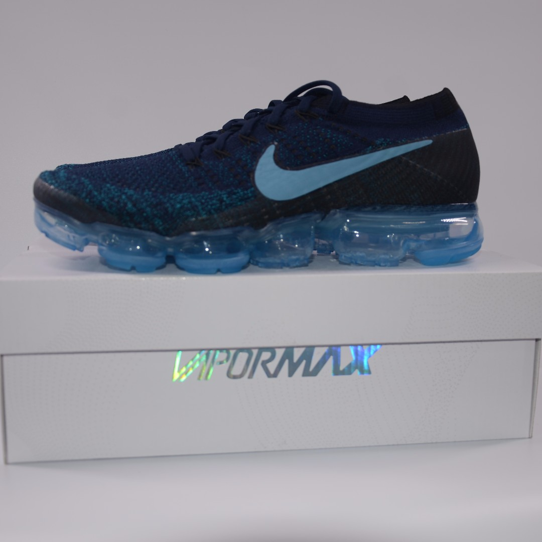 new style 7a85a c67df Nike Air Vapormax Flyknit JD Exclusive Ceruleen, Men's ...