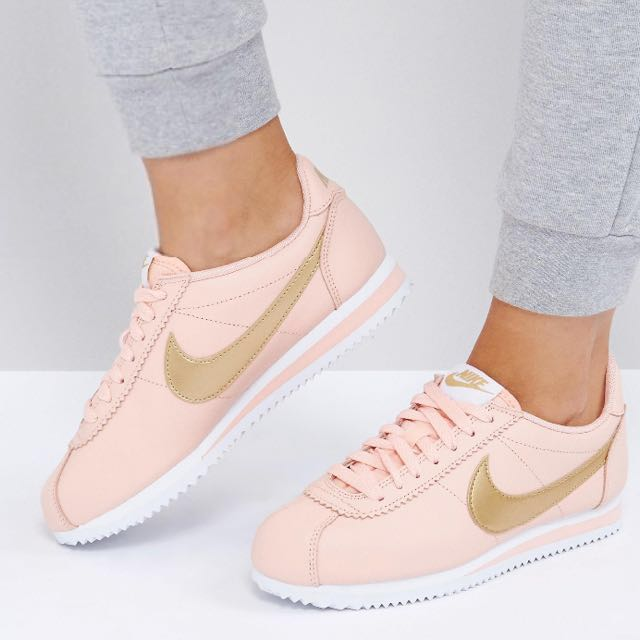 huge discount 5fd35 5c92f ... store nike cortez trainers gold pack womens fashion shoes on carousell  eb2b5 75c22