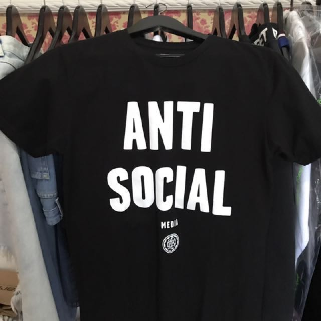 50db59fc3 OBEY ANTI SOCIAL MEDIA T-SHIRT, Women's Fashion, Women's Clothes on ...