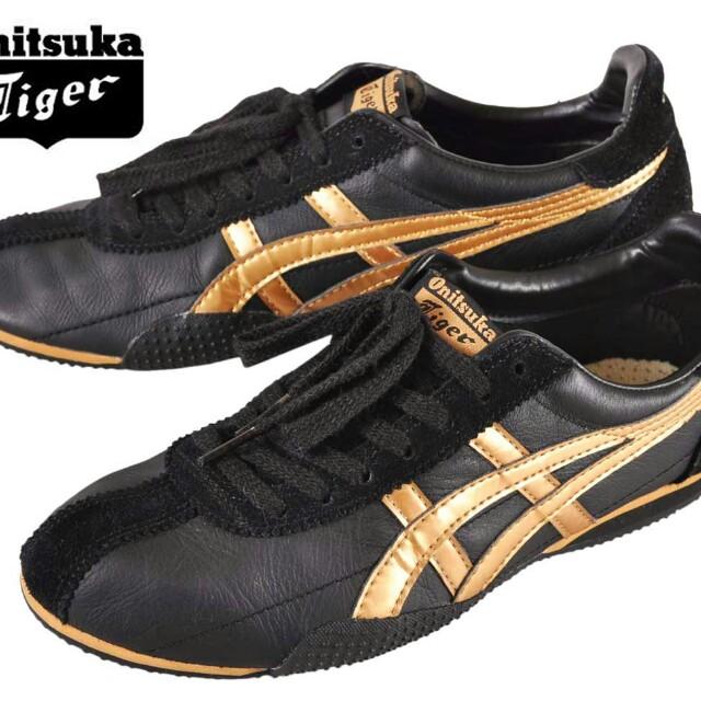 uk availability 9bbae b026c Onitsuka Tiger Black Gold, Men's Fashion, Footwear on Carousell