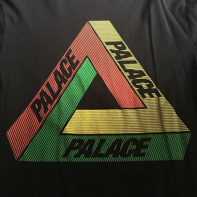 b7ad768f3bfb Palace skateboards Tri ferg Rasta Skate T-Shirt