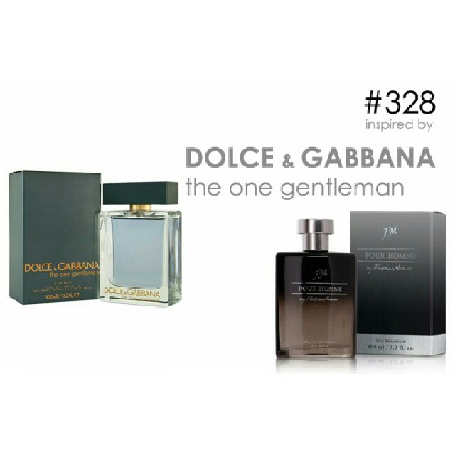 Parfum FM 328 Inspired By Dolce Gabbana The One Gentleman