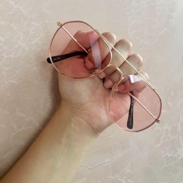 Pink Aviator Sunnies