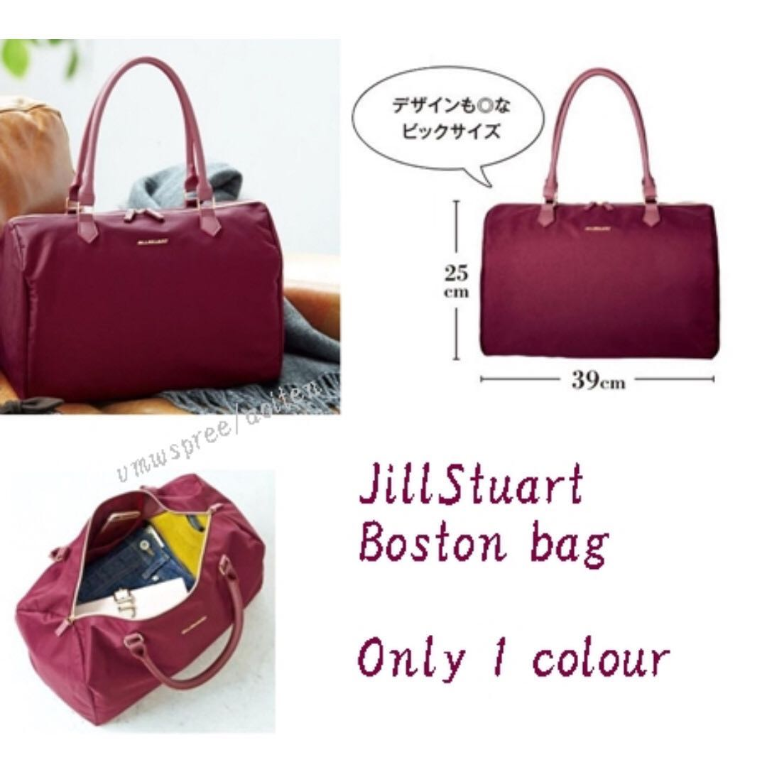 Po Jill Stuart Boston Bag Women S Fashion Bags Wallets On Carou