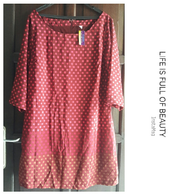 Polkadot Dress Big Size