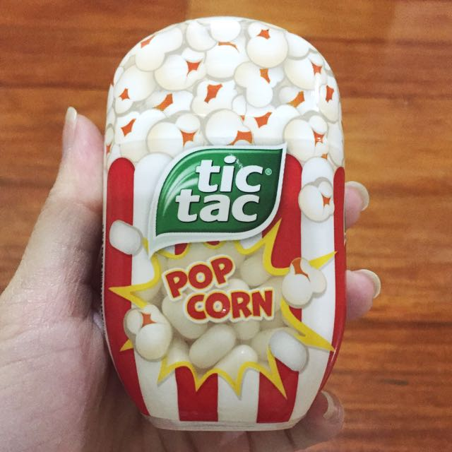 Popcorn TicTac