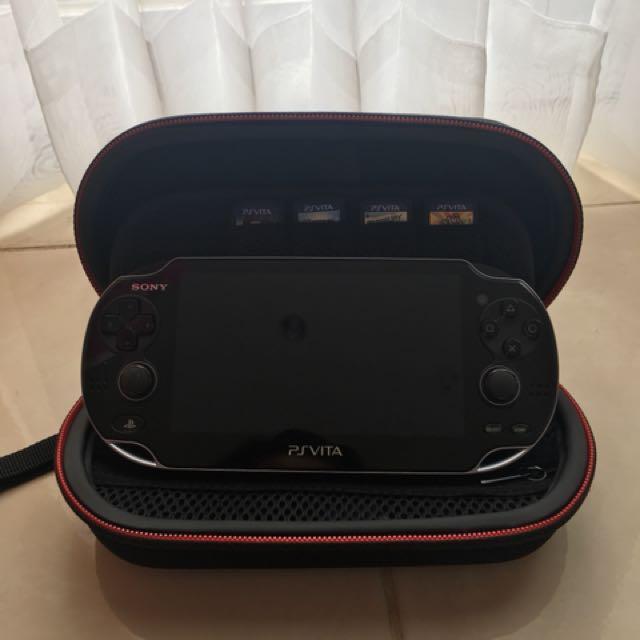 PS Vita Original (Fat) Black