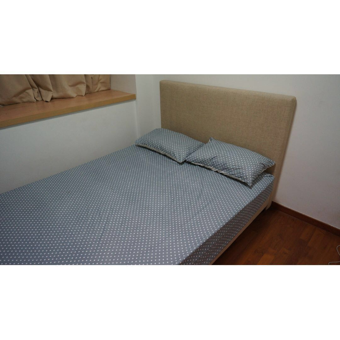 Dimensions Of A Queen Size Bed.Queen Size Bed With Mattress On Carousell