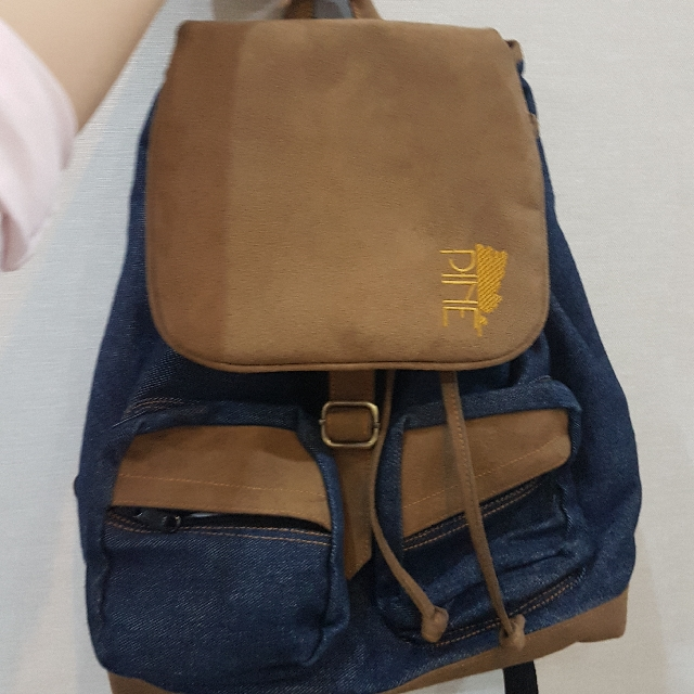 Ransel Bagpack Denim PINE