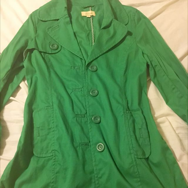 REDUCED! Green Light Coat