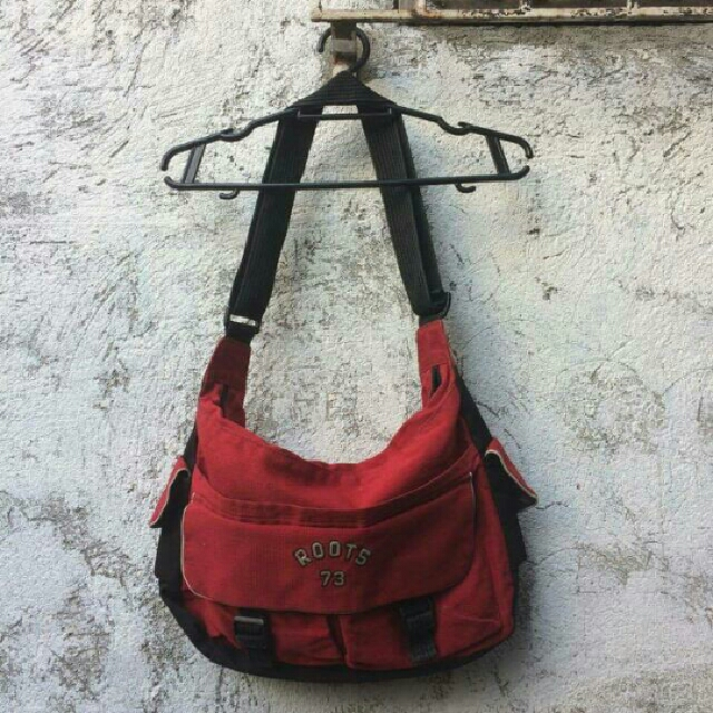 Roots Red Shoulder Bag