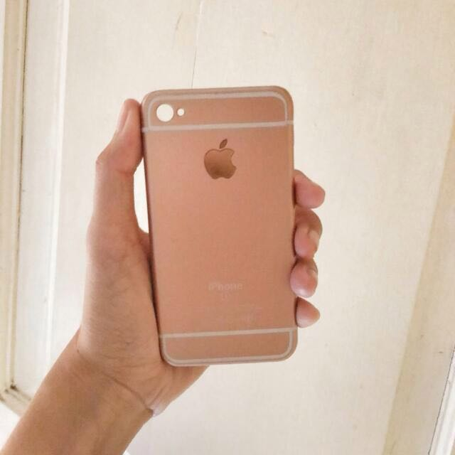 Rose Gold Case Iphone 4/4s