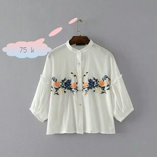 RX Fiore Shirt White