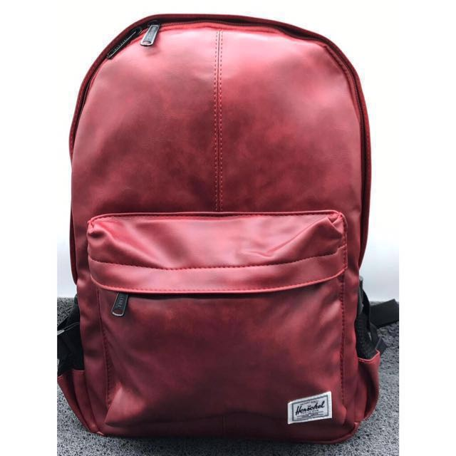[SALE] Herschel Leather Backpack Bags