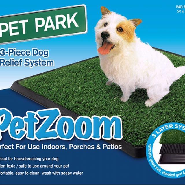 SALE!!! PetZoom Pet Park Indoor Pet Potty