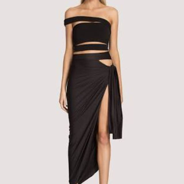 SCK The Label Fatale Wrap Skirt