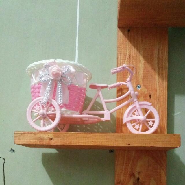 Sepeda Rotan Pink