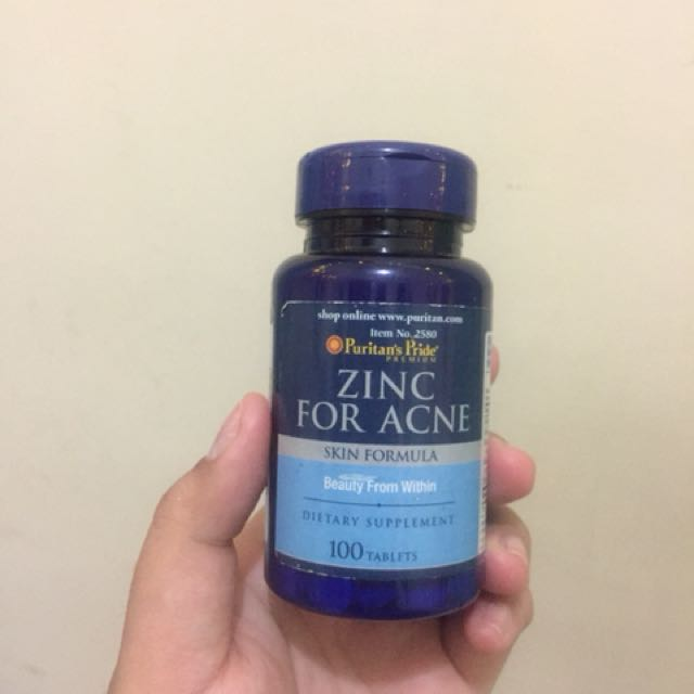 SHARE IN JAR Puritan's Pride Zinc for Acne