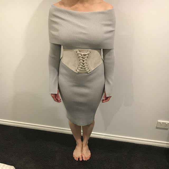 Sheike knit dress
