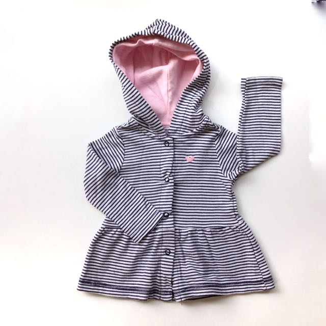(Size 9M) Carter's Stripes Hoodie