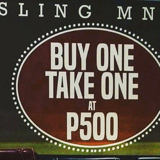 Sling Mnl buy 1 take 1