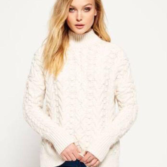 SUPERDRY knitwear
