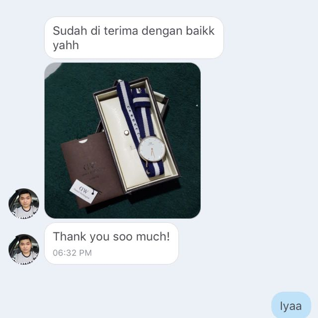 Thankyou for testimonial