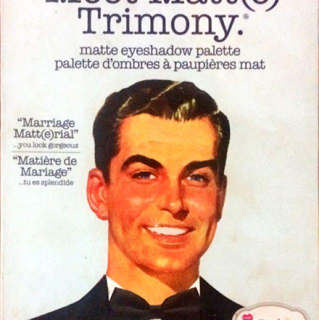 The Balm Trimony Eyeshadow Pallete