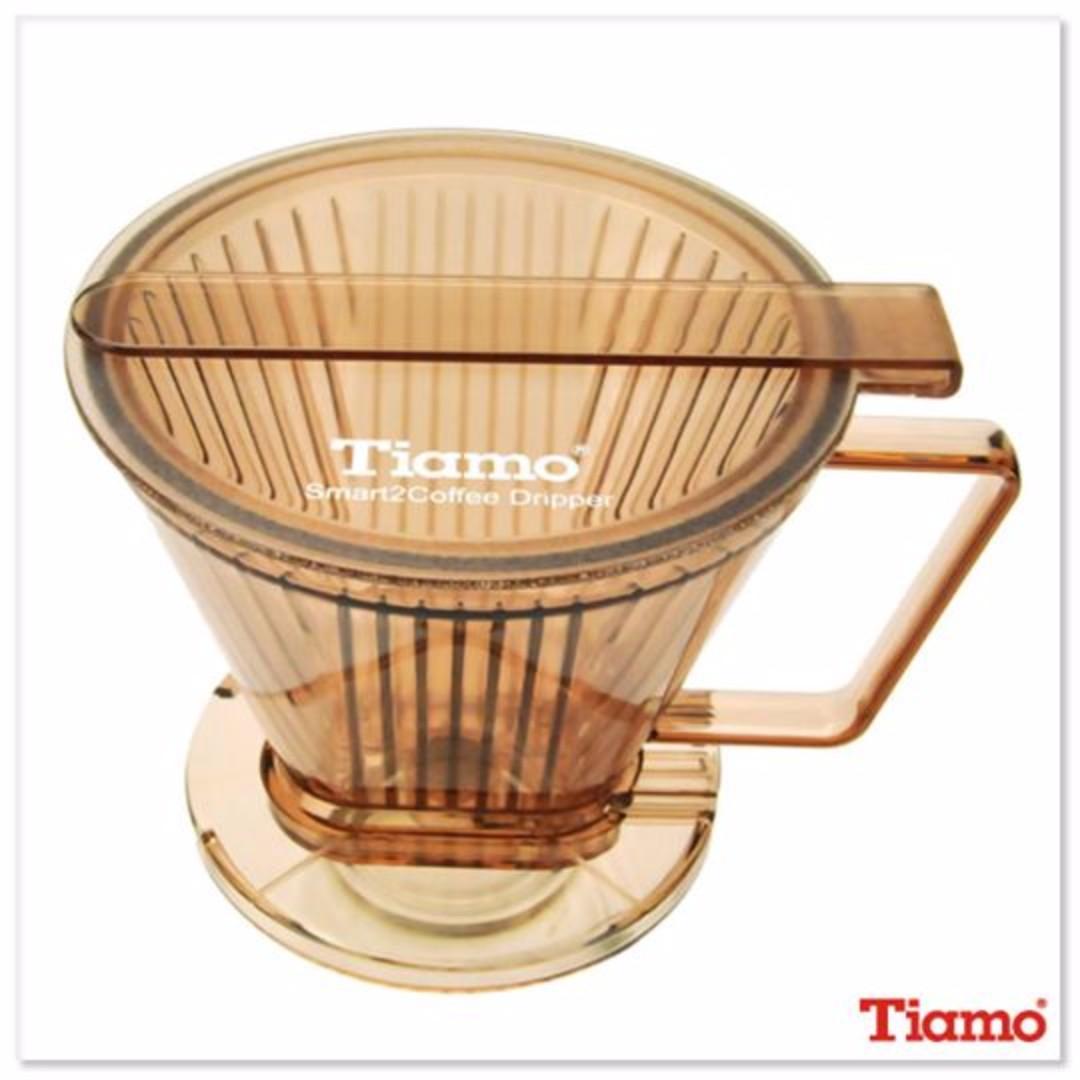 TIAMO Smart2Coffee濾杯(透明咖啡) HG5569TBR