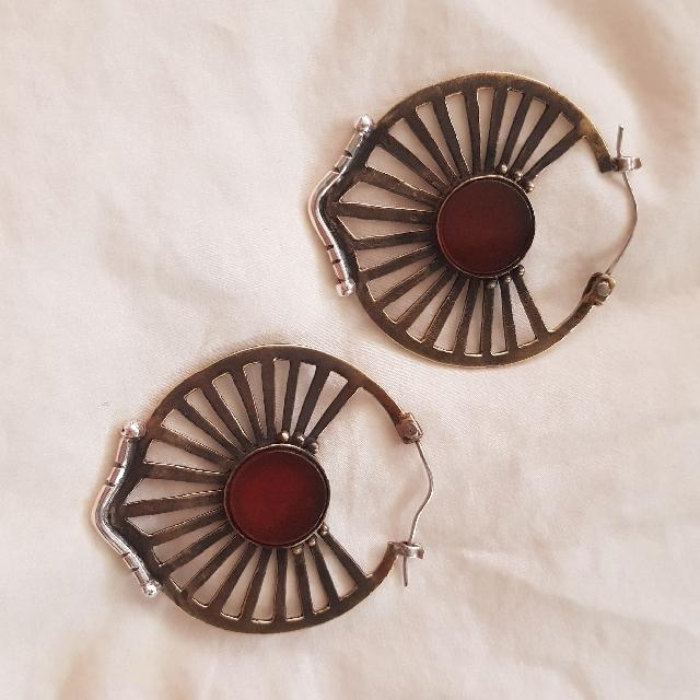Toni May Carnelian Earrings