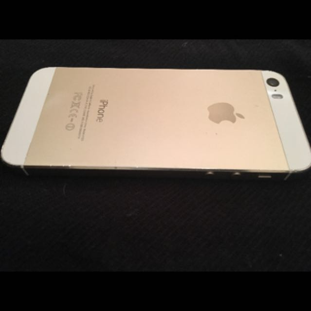 Unlock gold iPhone 5s