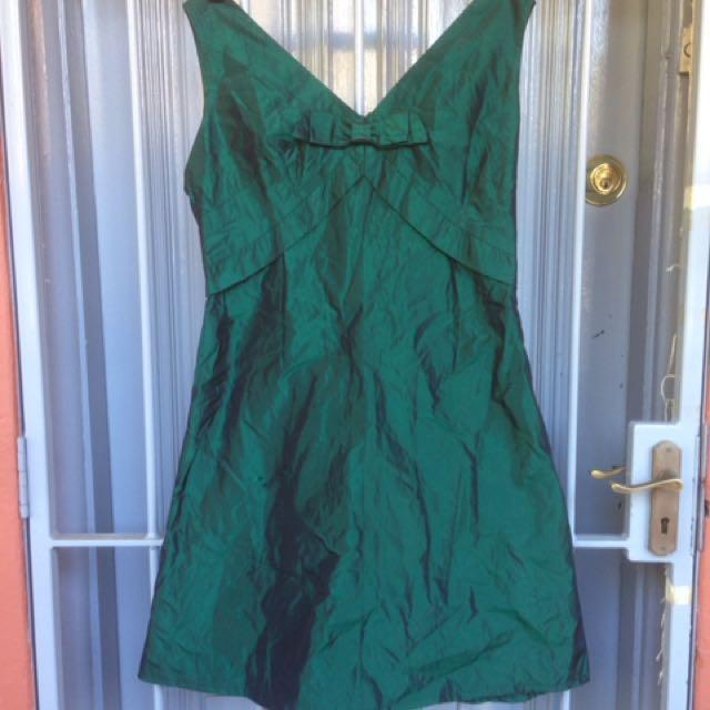 Vintage Green Prom Dress