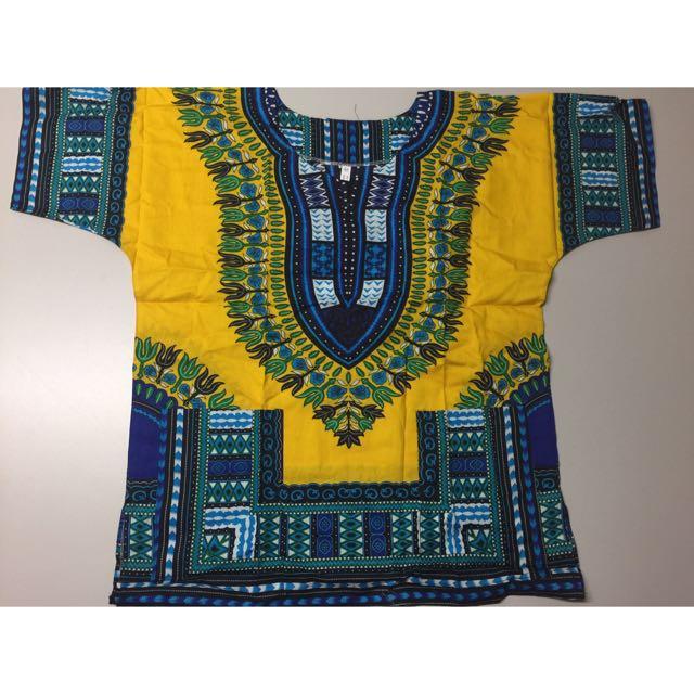 West African Dashiki shirt