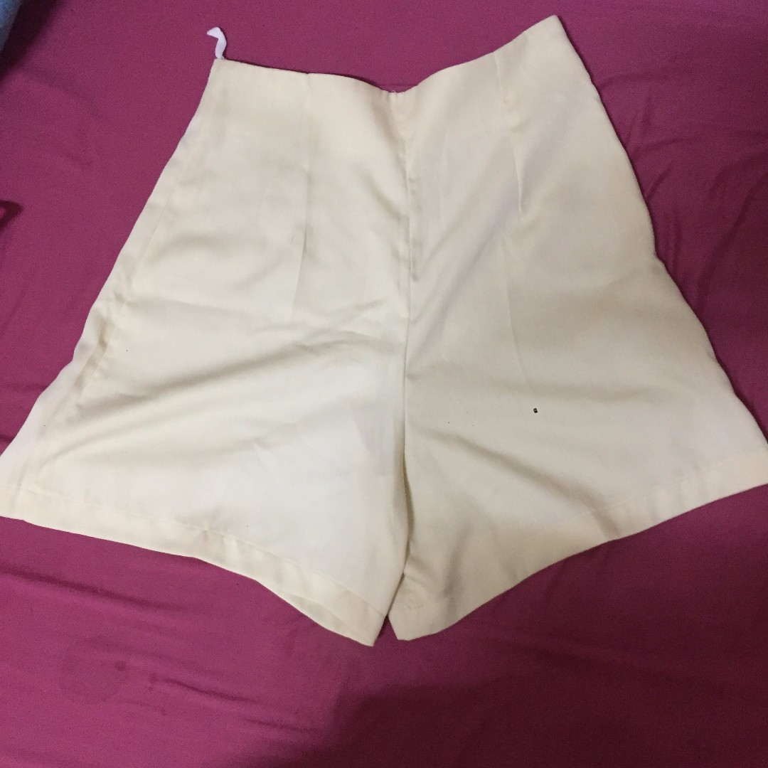 White Culottes shorts